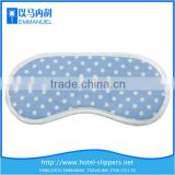 Blue and white dots TC cloth scented eye pillow