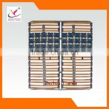 Home Furniture Metal Tube Wood Slat Bed Frame