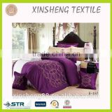 6-8PC/SETS Cheaper Microfiber comforter with Embroidery Twin/Full/Queen/King size Bedding set