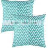 Wholesale Embroidered Cushion Cover Square Simple Modern Zipper Fabric Patchwork Cushion Covers
