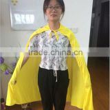 2015 colorful cape yellow hero cape,party costume