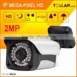 Small size full hd 1080p IP metal bullet cctv Low Cost Surveillance Camera