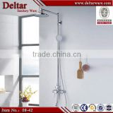 new design dual-function shower set, china supplier bathroom sink faucet set, bath rain shower set