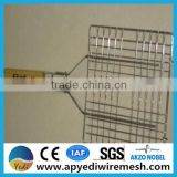 China ISO 9001 woven/crimped Barbecue Wire Mesh Strong and nice appearance. Low carbon steel wire