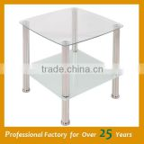 African coffee table simple design glass coffee table JC-03