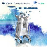 Newest Design Vertical Hifu Slimming Machine / Hifu Forehead Wrinkle Removal Weight Loose Machine For Spa Use High Frequency