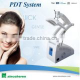 7 color pdt led light therapy / bio-light therapy acne treatment led pdt / pdt photon skin care beauty