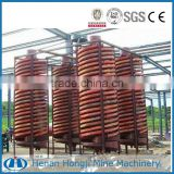 Iron ore beneficiation spiral chute--Gravity Spiral Chute for gold recovery