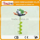 52cc Petro orange Earth Auger and Ice Auger digging machine/orange EARTH AUGER for tractor