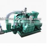 High Vacuum booster cement blowers Pressure Roots Blower