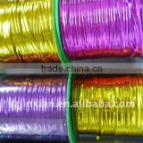 6mm double wired magic metallic tie