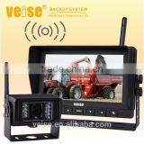 Wireless Reversing Camera System and Camera Video System for Grain Cart, Horse Trailer, Livestock
