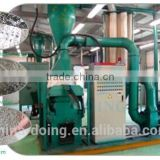 Made in China aluminum scrap aluminum cans recycling machinery/Aluminum composite panel recycling machine