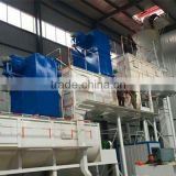 Three stage lime slaker machine for slaking of quick lime into calcium hydroxide production