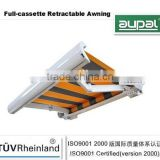 ( full cassette awning ) 2015 Retractable Patio Awning Any Color Outdoor Deck Shade CZCF-5030 M72