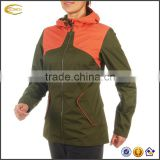 2017 NEW custom high quality waterproof windproof outdoors winter jacket with hood for women