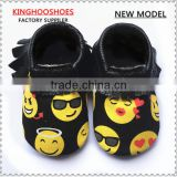 100% Genuine Leather Baby Moccasins Shoes/Slip on Infants Leather Sole Moccasins/ Toddlers and Kids Moccasins Shoes