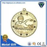 Transparent Lacquer Swimming Medal