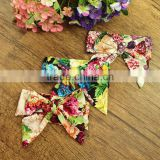 Bow Headband Newborn Kids Cotton Elastic Hair Band Baby Headband