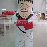 inflatable pummel stick punching bag