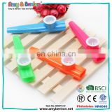 Party favors Eco-friendly music instrument plastic kazoo toy with en71