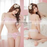 China Sales High Quality Lovely Pink Girls Teen Women Mature Black Color Erotic Open Transparent Sex Underwear For Ladies