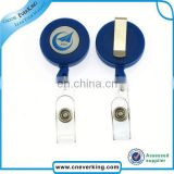 Custom shaped reel badge retractable for promotion