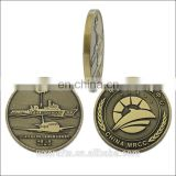 OEM customized metal 2D/3D coin for souvenir