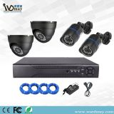 Wdm Hot Selling H. 265 4chs 4.0MP/5.0MP CCTV Home Security Camera Alarm Poe NVR System Kits