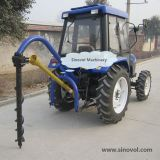 Post hole digger with 100-600mm auger