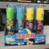 Good Quality Flashlight Toys with Jelly Beans Candy
