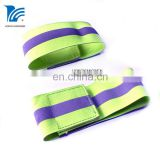 Hook And Loop Closure Elastic Reflective Adjustable Armband