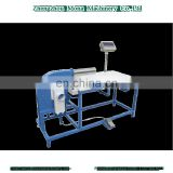 pillow stuffing blower machine with weighting table filling system