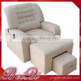 Beiqi Wholesale Comfortable Pure White Pedicure Sofa Nail Salon Cheap Massage Chair Used Office Barber Shop