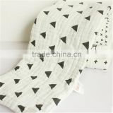 wholesale organic bamboo cotton throw baby swaddle blankets                                                                         Quality Choice
