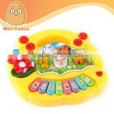 Baby toys bebe animal music toy mini piano electronic keyboard