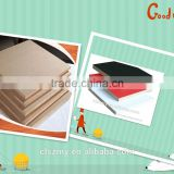 1220*2440 Plain or Colorful Melamine Laminated MDF for indoor furniture decoration from shengze wood