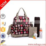 Top Quality New Fashion Pretty Baby Diaper Nappy Changing Backpack Messenger Bag