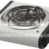 Stainless steel heating element portable electric hot plate