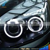 B-deals New products ccfl angel eyes halo 106mm 126mm CCFL angel eyes headlights for ford f ocus 05