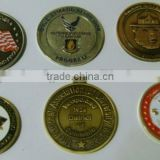 die casted high quality commemorative coin badge