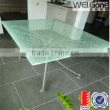 high quality frosted tempered glass dining table top                                                                         Quality Choice