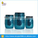 13CM High Mini Mason Jars With Plastic Solar Power Light Lids