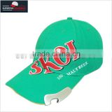 hot sale good quality beer bottle opener baseball cap