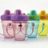 Training Kids Sipper Cup Wholesale Baby Cup BPA free Sippy Cups With handle                                                                         Quality Choice