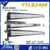 Y&T hot selling 40ft 20ft 30ft offroad led light bar made in china with spot flood beam CE FCC approved