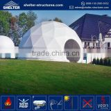 Cheapest price 650g/sqm PVC coated fabric side wall cover arch dome tent canopy outdoor events party city