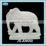 antique hand polishing handcraft marble elephant statue