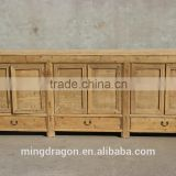 antique Chinese furniture recycled natural wooden sideboard