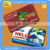 paper/ plastic prepaid phone calling scratch off card                                                                         Quality Choice